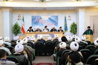 تصاویر/ نشست مجمع نمایندگان طلاب و فضلای حوزه علمیه قم