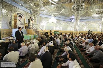 بیش از ۵ هزار نفر به ظرفيت نمازگزاران نماز جمعه مشهد افزوده شد