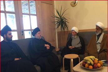 بازدید نماینده آیت الله العظمی سیستانی از پروژه دانشنامه امام حسین علیه السلام  در لندن