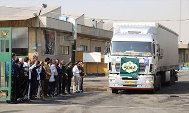 پذیرایی از زائران اربعین در مرز مهران در قالب طرح «مهر درخشان»