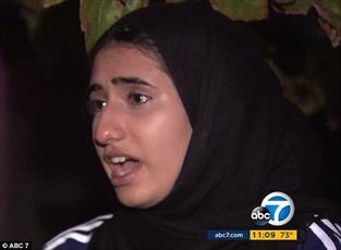 هتک حرمت و کشیدن روسری نوجوان محجبه در لس آنجلس