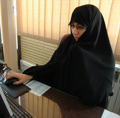 مدرسه علمیه خواهران اصفهان در روزهای کرونایی به کارگاههای جهادی تبدیل شد