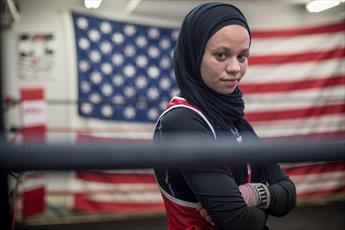 در آمریکا؛ ورزشکار زن مسلمان به خاطر حجاب از  رقابتها بازماند