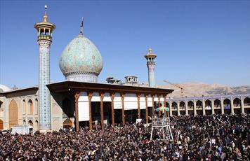 """مراسم """"اربعینیان سومین حرم اهل بیت(ع)"""" شیراز ثبت رسمی شود"""