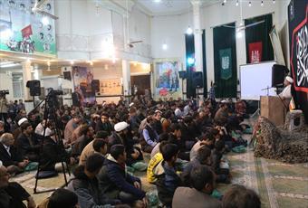نخستین یادواره شهدای مسجد شهید مصطفی خمینی قم برگزار شد