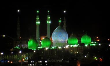 گزارشی از حال و هوای مسجد مقدس جمکران در شب نهم ربیع الاول