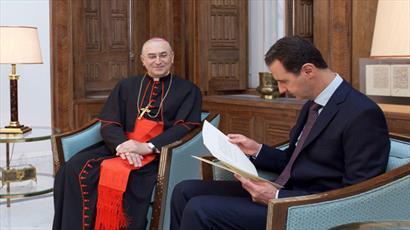 پاپ خواستار بازگشت آرامش به سوریه شد