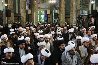همایش بزرگ طلاب و اساتید بسیجی استان تهران برگزارشد