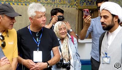 گردهمایی فعالان عرصه تبلیغ برای گردشگران خارجی در  قم  برگزار شد