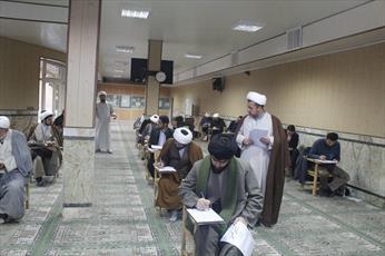 آزمون تکمیل ظرفیت رشته های تخصصی حوزه قزوین برگزار شد