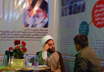 ارائه خدمات  مشاوره ای روحانیون در بقاع متبرکه لرستان