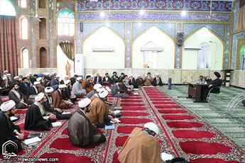 تصاویر/ تقدیر از پژوهشگران حوزه علمیه خوزستان