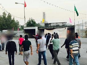 مردم  بوشهر  جنایات آل خلیفه را محکوم می کنند