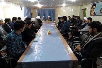 هم اندیشی دانش پژوهان رشته حقوق و قضای اسلامی در حوزه یزد