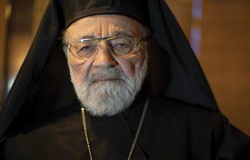 اسقف کاپوچی پدر معنوی ملت مظلوم فلسطین و از شیفتگان امام خمینی(ره) بود