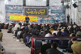 تصاویر/ بازدید مدیر حوزه علمیه اصفهان از امتحانات پایان ترم طلاب