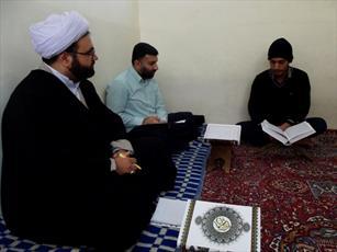 برگزاری آزمون  قرآنی در مدارس علمیه چهار شهرستان