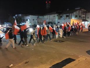 حرکت مردم بحرین برای شکستن محاضره منزل شیخ قاسم آغاز شد +تصاویر