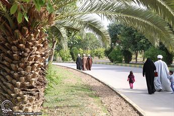 تصاویر/  پیاده روی خانوادگی  روحانیون  اهوازی