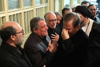مراسم وداع با پیکر آیتالله هاشمی رفسنجانی برگزار شد
