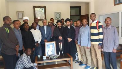تجلیل نماینده جامعة المصطفی در ماداگاسکار از مقام شامخ آیت الله رفسنجانی