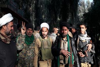 روحانیون حوزه علمیه عراق در عملیات آزادسازی تلعفر شرکت دارند