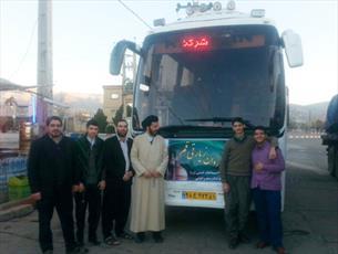 اردوی فرهنگی زیارتی طلاب سنقر در جوار بارگاه کریمه اهل بیت(س)