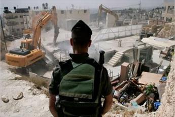 تخریب گسترده منازل فلسطینیان در جنوب الخلیل
