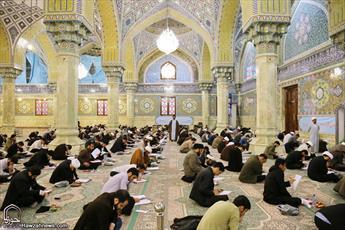 مسابقات علمی طلاب سطوح عالی و خارج حوزه برگزار شد