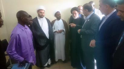 بازدید نمایندگان مجلس از نمایندگی جامعة المصطفی در کشور مالی +عکس