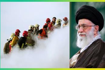 آتش نشانان شهیدان راه خدمت دشوار و انجام وظیفهی پر خطرند / همه ملت ایران به این عزم و شهامت برخاسته از ایمان ببالند