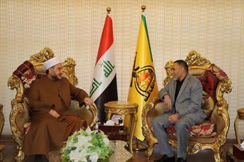 دارالافتاء عراق و شیوخ الانبار از حزب الله عراق تشکر کردند
