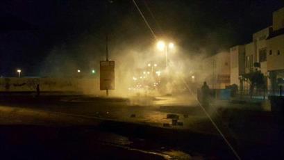 مقابله دوباره نیروهای امنیتی با تظاهرات مردمی در بحرین