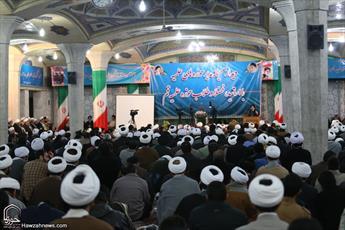فیلم/ پیشنهادات روحانیون در دیدار صمیمی با مدیر حوزه