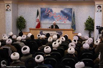 تصاویر/ نشست مجمع نمایندگان طلاب و فضلای حوزه با حضور رئیس قوه قضائیه