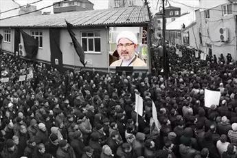 حضور شخصیت های حوزوی در تشییع امام جمعه فقید شیعیان استانبول + عکس