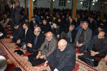 مراسم بزرگداشت امام جمعه فقید شیعیان استانبول برگزار شد+ عکس
