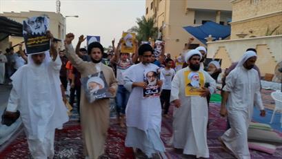 تاکید آیت الله شیخ عیسی قاسم و ملت بحرین بر ادامه انقلاب مسالمت آمیز/ خروش سراسری ملت بحرین در شش سالگی انقلاب
