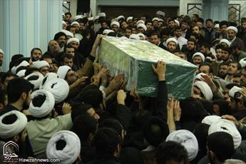 پیکر سه شهید مدافع حرم در قم تشییع میشود
