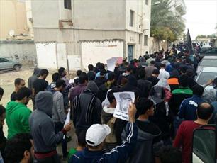 تظاهرات در بحرین در همبستگی با بازداشت شدگان و تاکید بر مقاومت