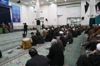 مراسم بزرگداشت مرحوم آیت الله حلیمی کاشانی در قم برگزار شد
