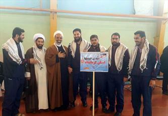 درخشش طلاب و روحانیون بسیجی کرمانشاه در مسابقات ورزشی