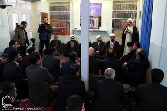 تصاویر/ دیدار رابطین کمیتههای استانی ستاد همکاریها با مراجع و علما