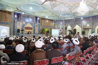 تصاویر/ نشست تخصصی «زیرساخت های فقهیِ حکومت اسلامی» در اهواز