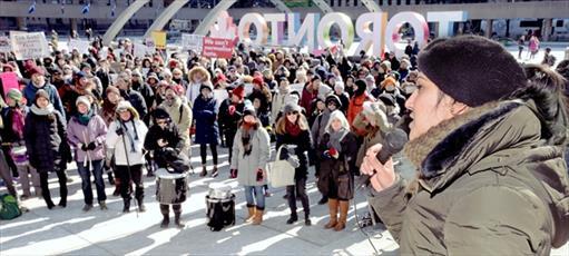 راهپیمایی گسترده ضداسلامهراسی در تورنتو