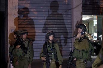 حمله صهیونیست ها به منزل ۲۰ اسیر فلسطینی