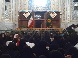 برپایی اردوی فرهنگی آموزشی طلاب و اساتید مدرسه  خواهران بافق در مشهد