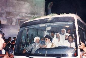 عکس/ سالگرد بازگشت شیخ عیسی قاسم به بحرین