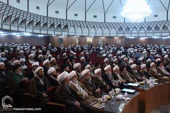 تصاویر/ اجلاسیه عمومی اساتید سطوح عالی و خارج حوزه علمیه قم