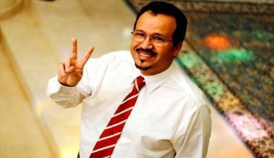 دکتر علی العکری از زندان آلخلیفه آزاد شد